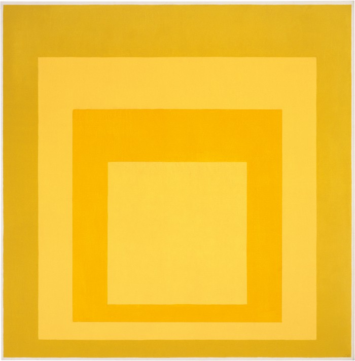 Homage to the Square: Diffused, 1969