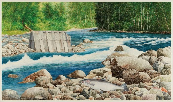 Half a Dam, 1971