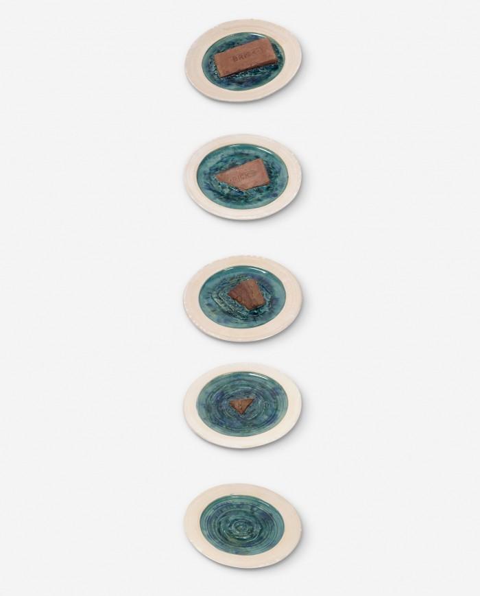 Sinking Brick Plates, 1969