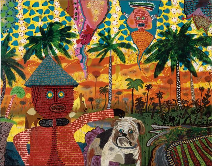 Hans Bricker In The Tropics, 1974