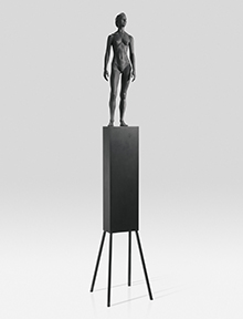 Fountain Figure #4, 1986-87
