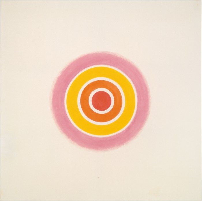 Rose by Kenneth Noland (1961)