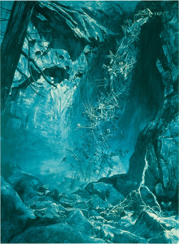 Yosemite Falls (Homage to Watkins), 1993