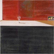 Wine Glass and Postcard (Zurbarán), 1968