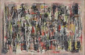Norman Lewis (1909 - 1979) Untitled, 1949 Oil on canvas 20 x 30 in.