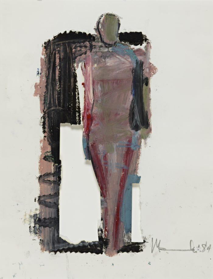 Mujer Pegada Study No. 7, 1984