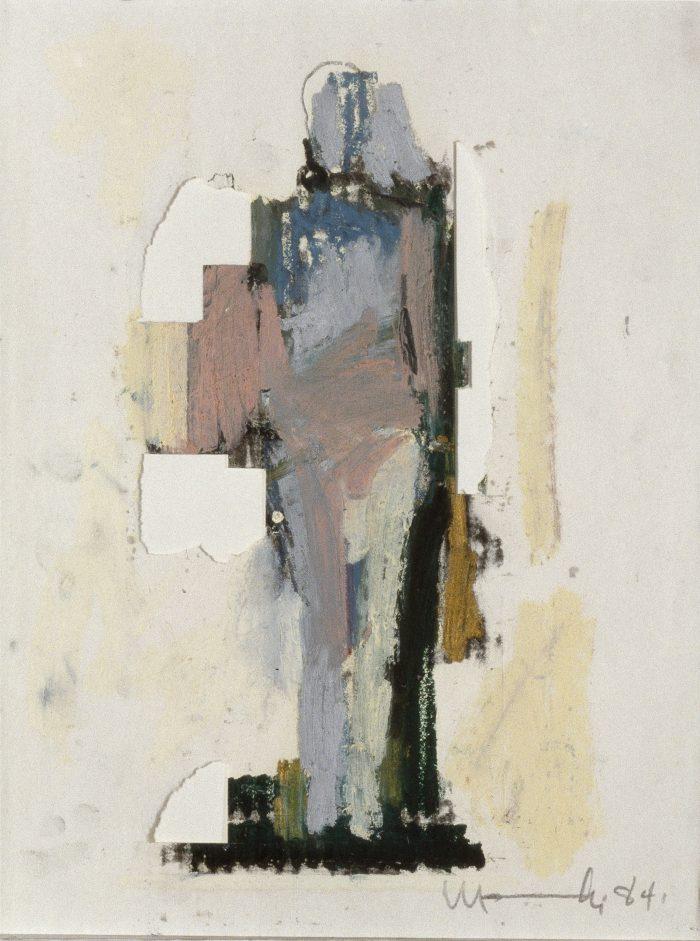 Mujer Pegada Study No. 2, 1984