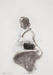 Japanese Dancer Series No. 2 [Makiko], 1980
