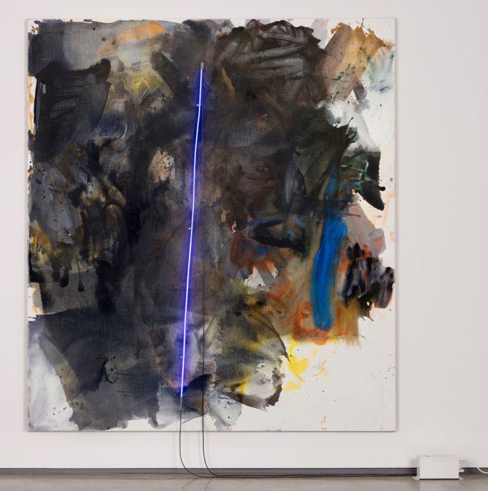 black painting, 2017