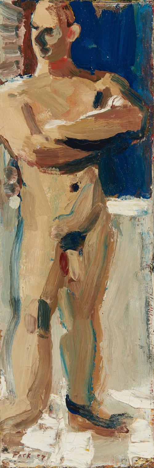 Untitled (Portrait of Tom Jefferson), 1957